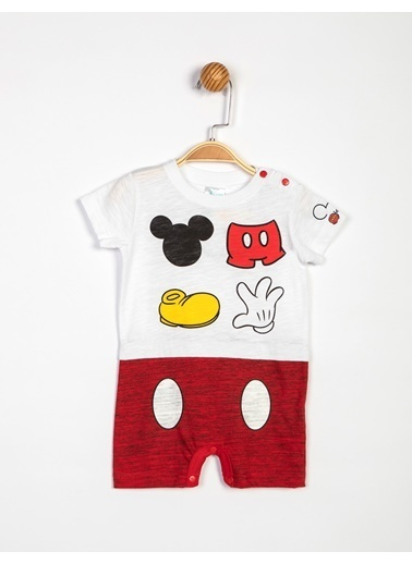 Mickey Mouse Tulum Beyaz